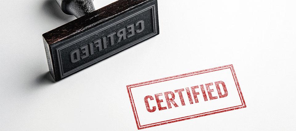 Certificazione bilance